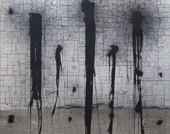 Rashid JOHNSON Black Lines, 2012