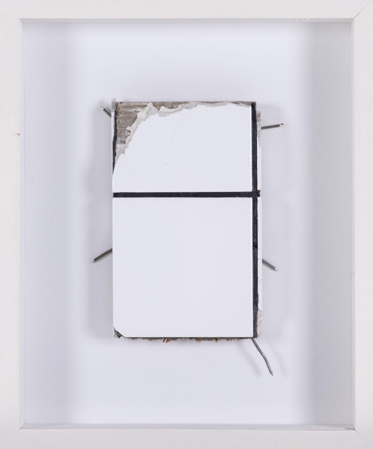 Jean-Pierre RAYNAUD , Fragment de Menil,, 1984