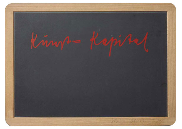 Joseph BEUYS Kunst = Kapital, 1980