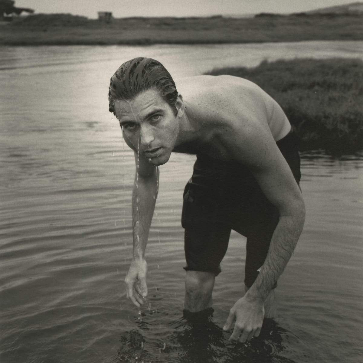 Arthur Tress, Surfer, Hilo, 1996