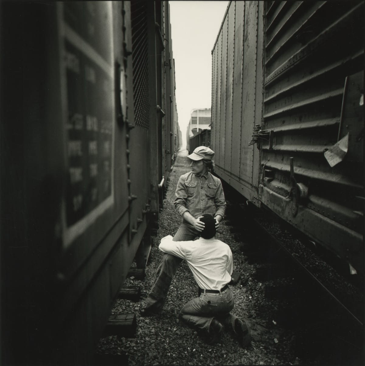 Arthur Tress, Riding the Rails, 1976