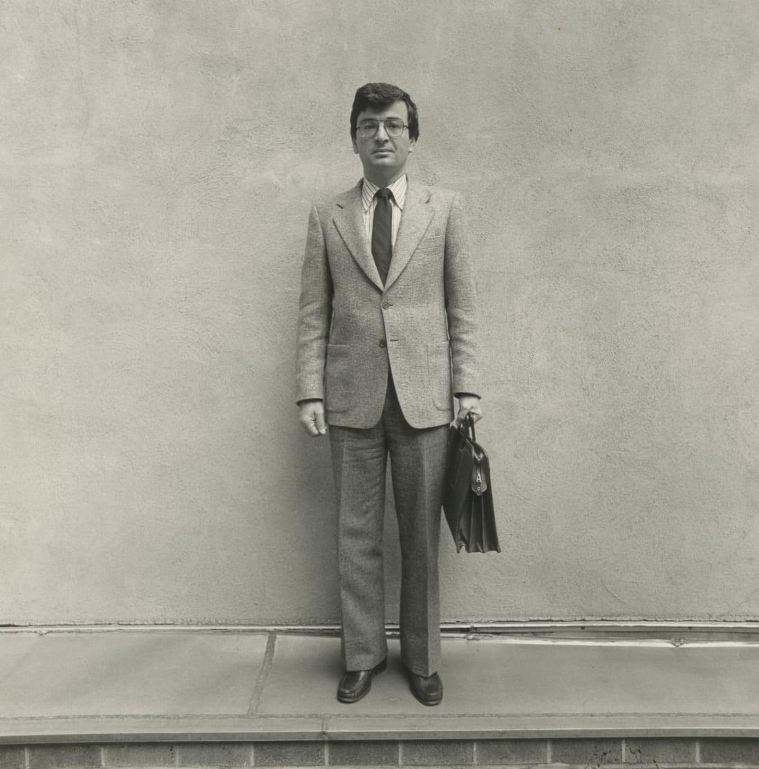 Arthur Tress, Small Jewish Trades, Salesman, NY, 1984