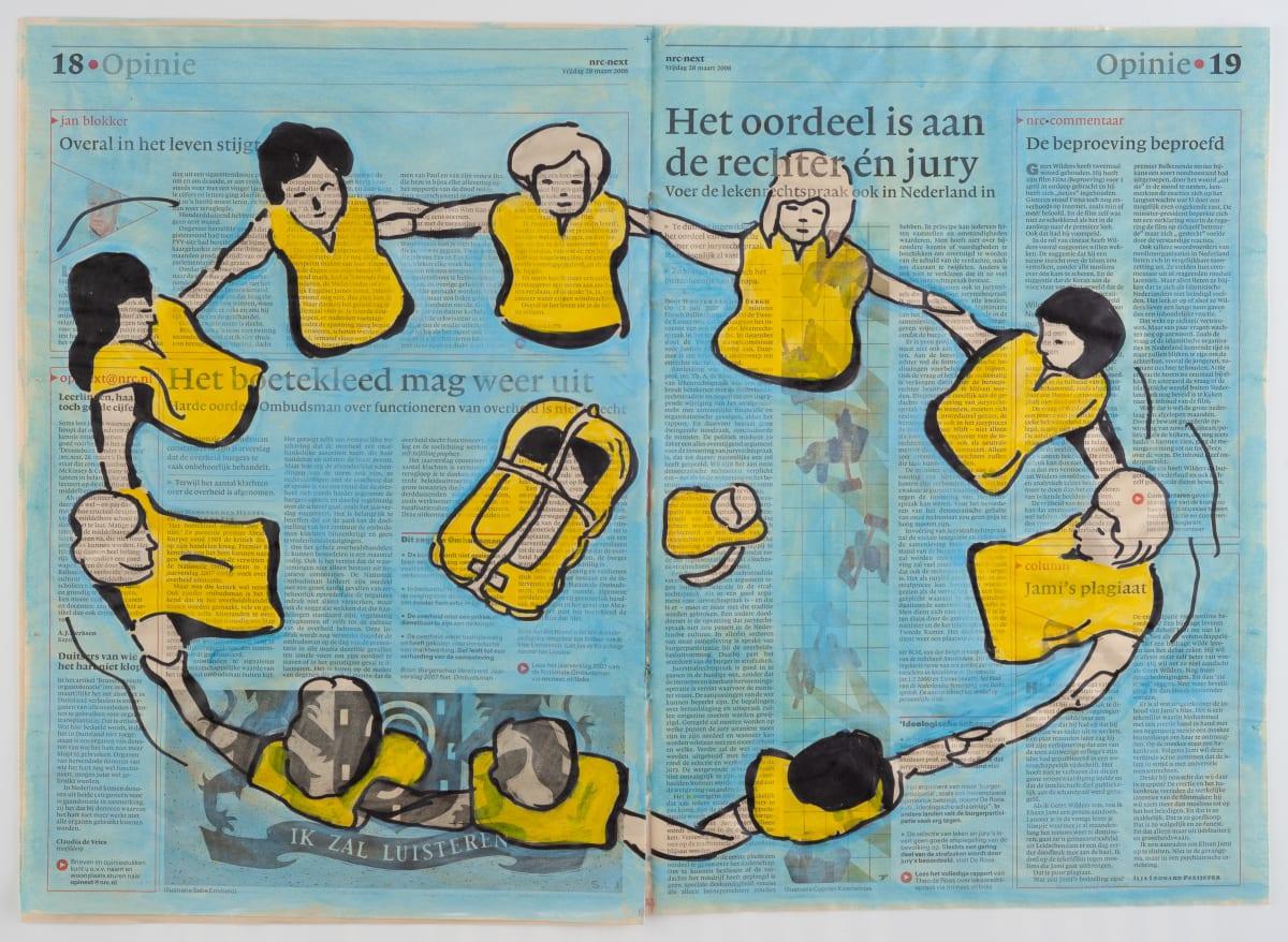 Yvette Taminiau, The Verdict, 2008