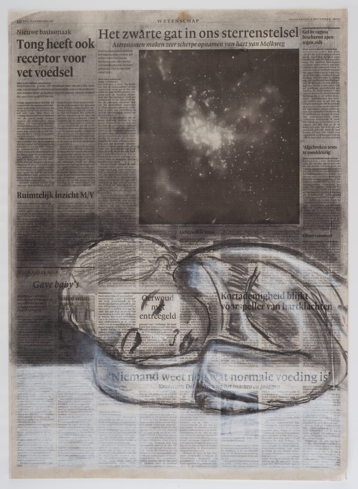 Yvette Taminiau, Black Hole, 2005