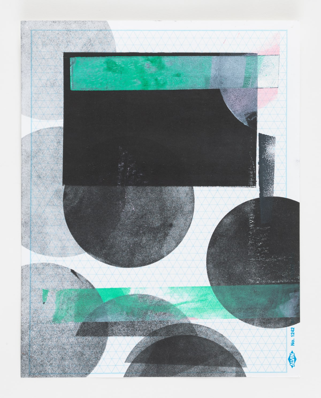 Austin Thomas, Polka Dot Rectangular, 2017