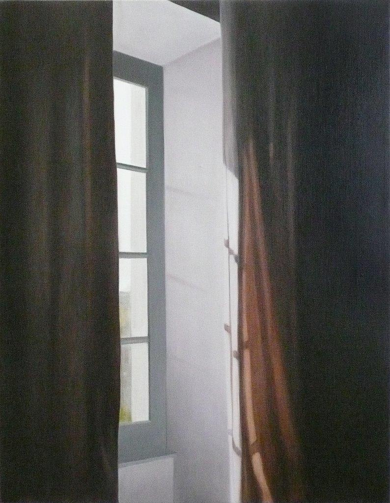 Emily Wolfe Orange Light, 2013 Oil on linen 34.3 x 26 in 87 x 66 cm