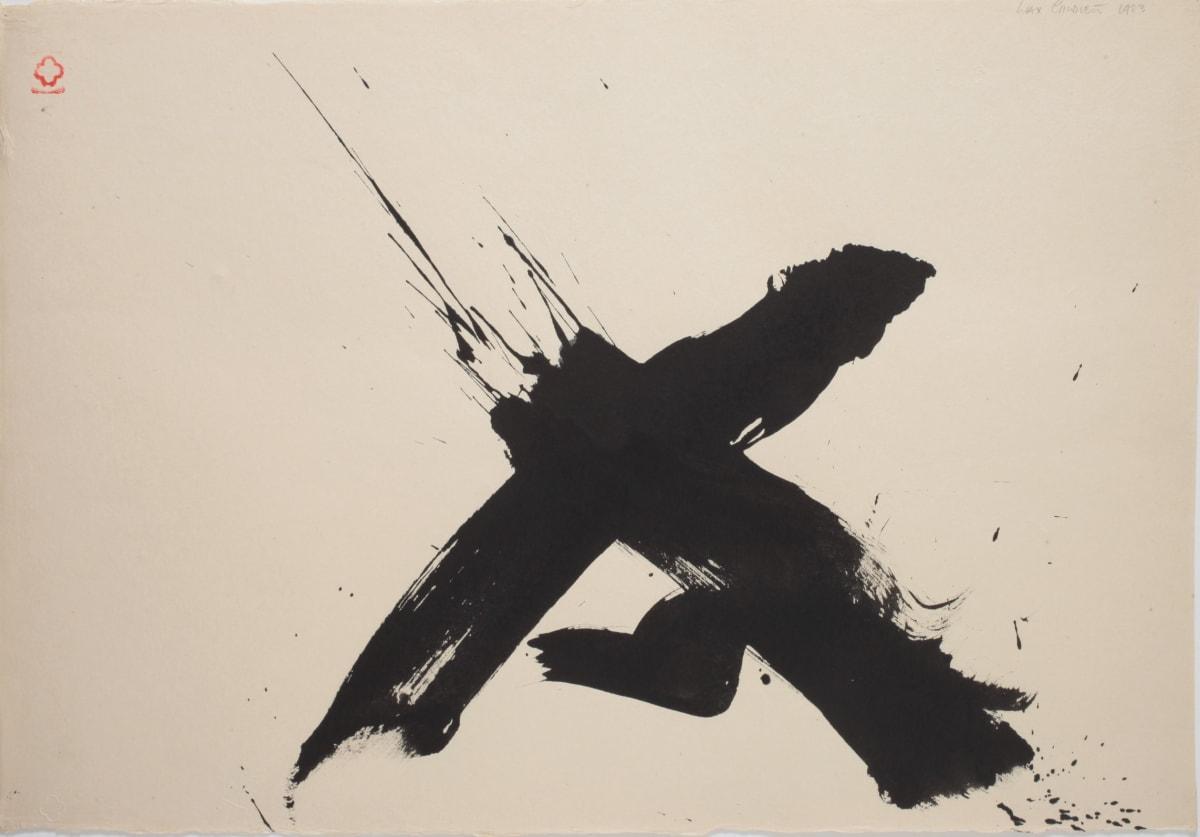 Max GIMBLETT Man Walking - 6/19/83, 1983 Mixed media on paper 521 x 762 mm