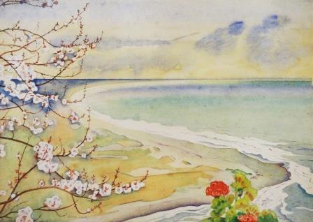 Rita Angus Spring, n.d. Watercolour on paper 7.1 x 10 in 18 x 25.4 cm