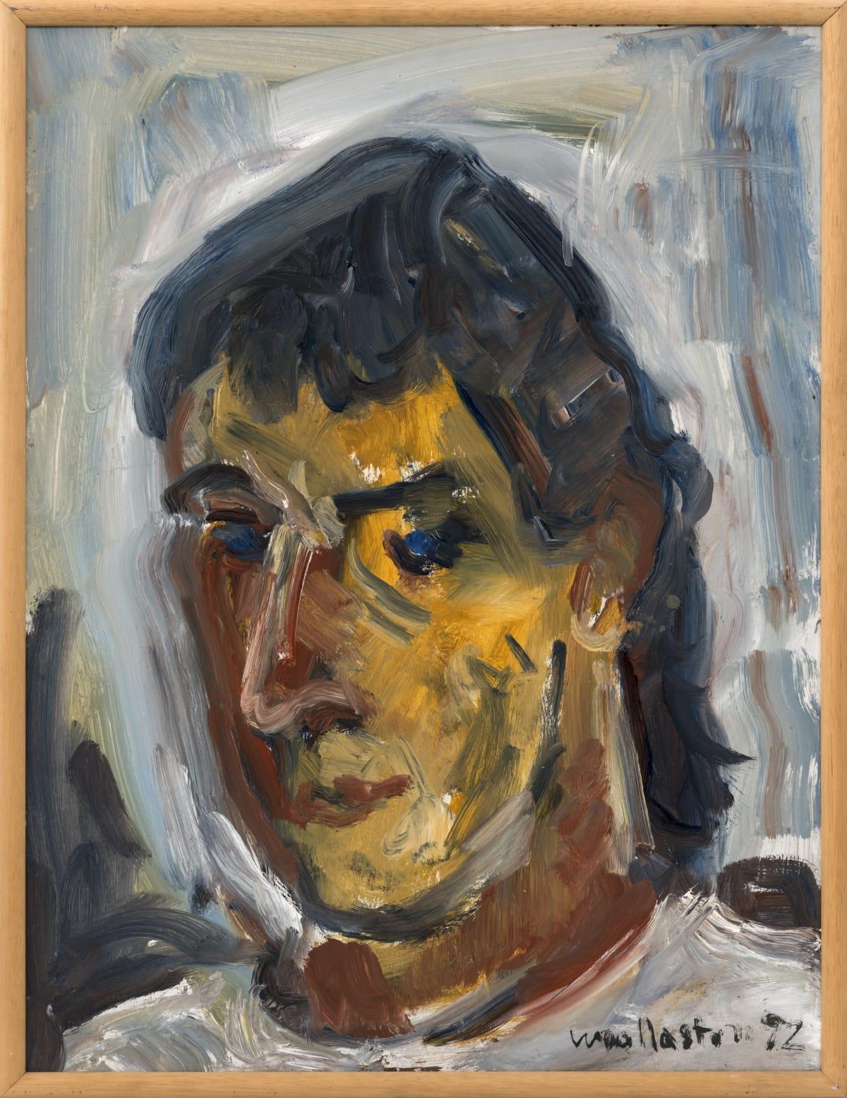 Mountford Tosswill Woollaston Portrait (Stephen Lockett), 1992 Oil on board 70.8 x 53.5 cm 27 7/8 x 21 1/8 in
