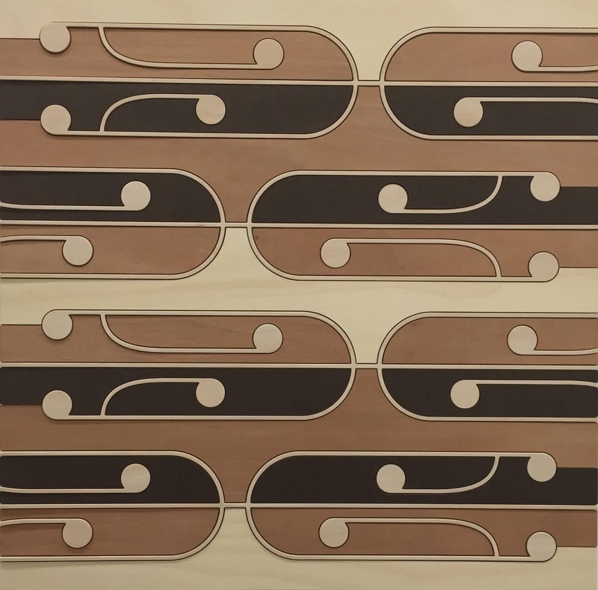 Ngataiharuru TAEPA Mata Rau #4, 2016 Various timbers 21.9 x 21.9 in 55.5 x 55.5 cm