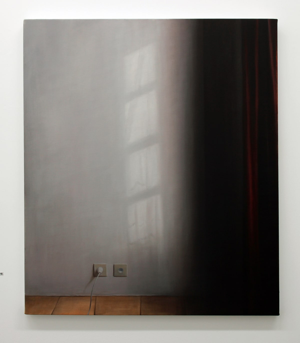 Emily Wolfe Reflected Light, 2013 Oil on linen 37.8 x 32.3 in 96 x 82 cm