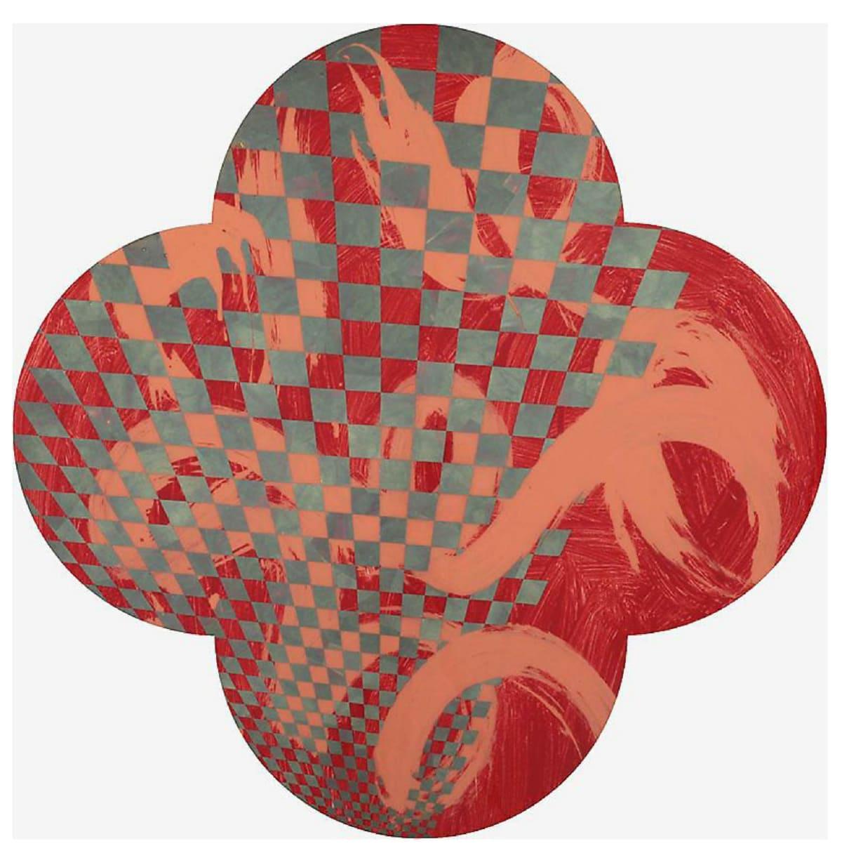 Max GIMBLETT Pegasus, 2016 Mixed media 40 x 40 in 101.6 x 101.6 cm