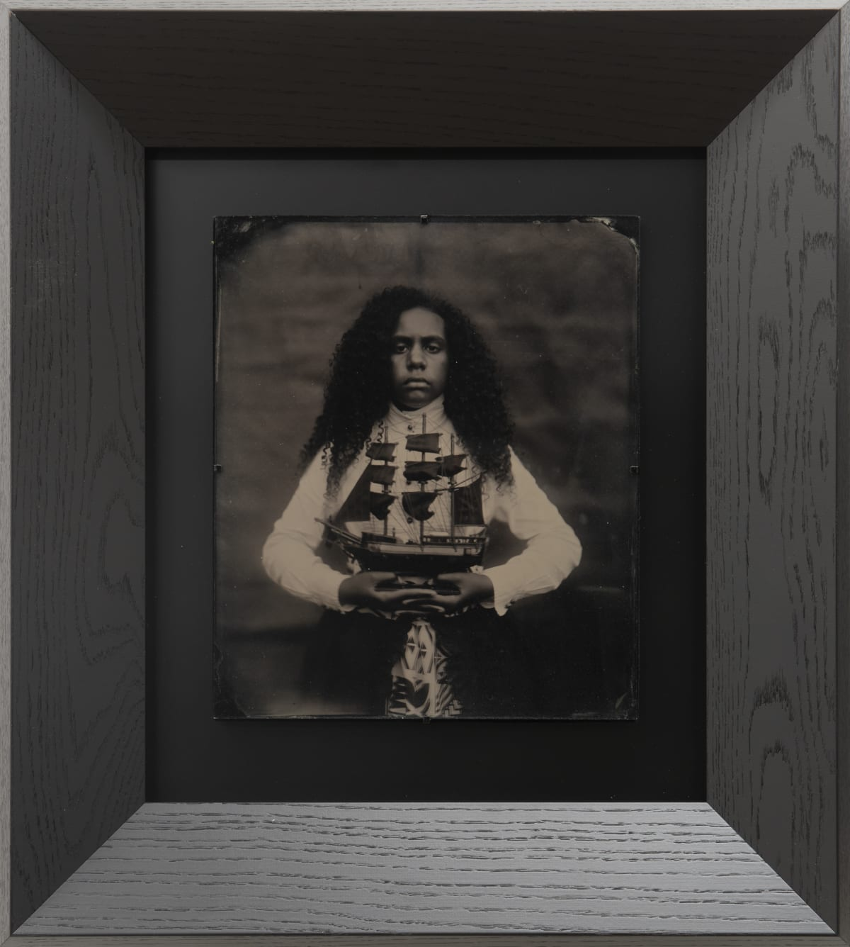 Jasmine Togo-Brisby Inheritance, 2019 Collodion on glass 258 x 305mm