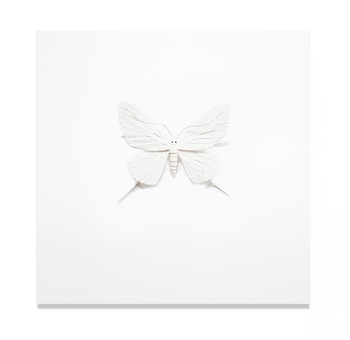 Elizabeth THOMSON The Black-and-Whites (White Mounted), 2017 Mixed media 17.7 x 17.7 in 45 x 45 cm