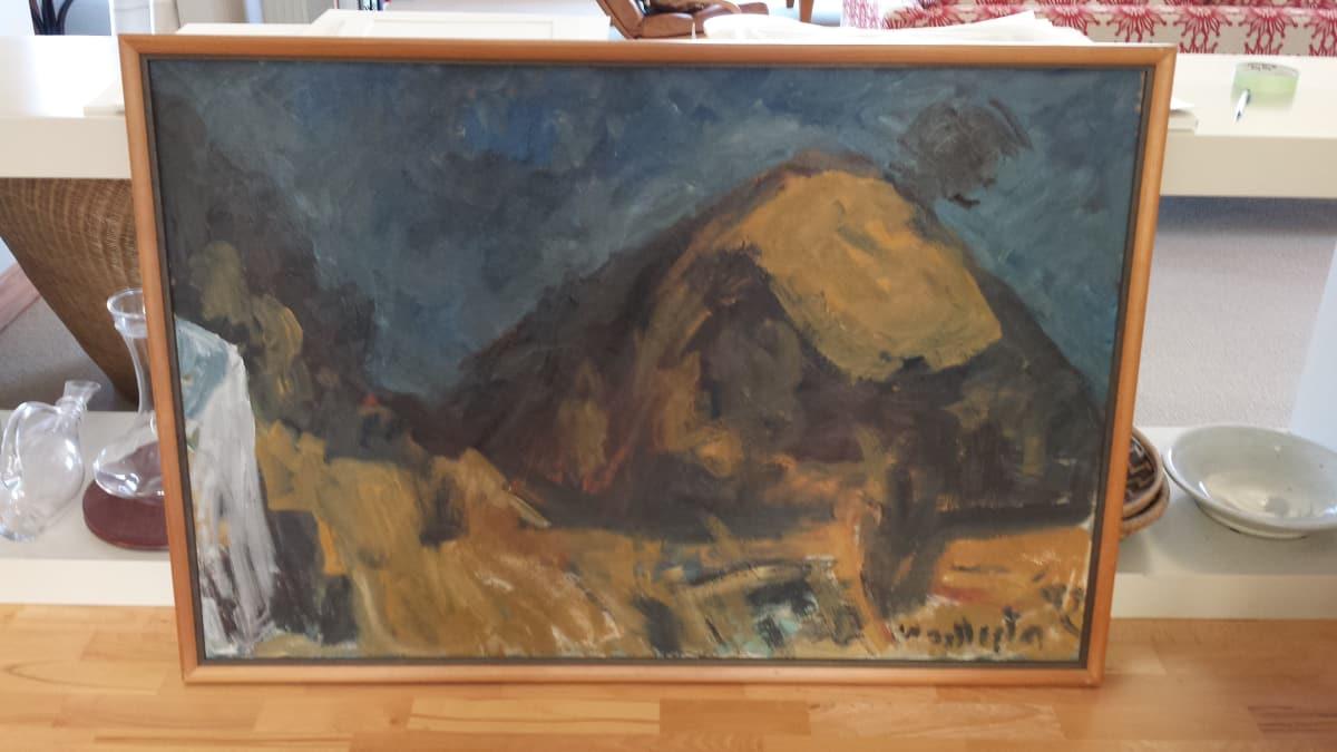 Mountford Tosswill Woollaston  Pah Hill, n.d.  Oil on board  33.9 x 50.2 in 86.1 x 127.4 cm