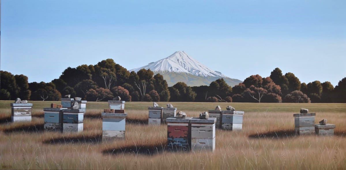 Michael Hight Manaia Road, 2018 Oil on canvas 33.1 x 65.7 in 84 x 167 cm