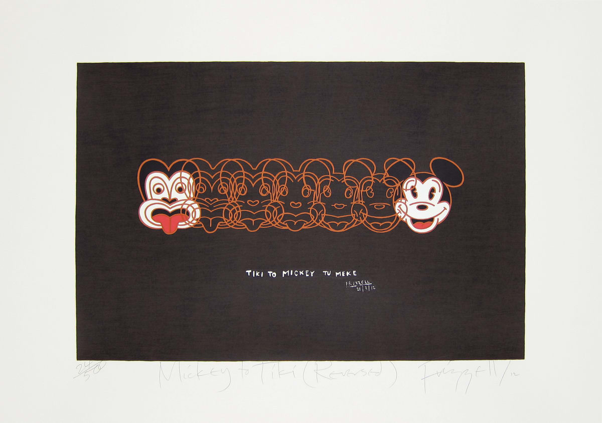 Dick FRIZZELL, Mickey to Tiki (Reversed), 2012