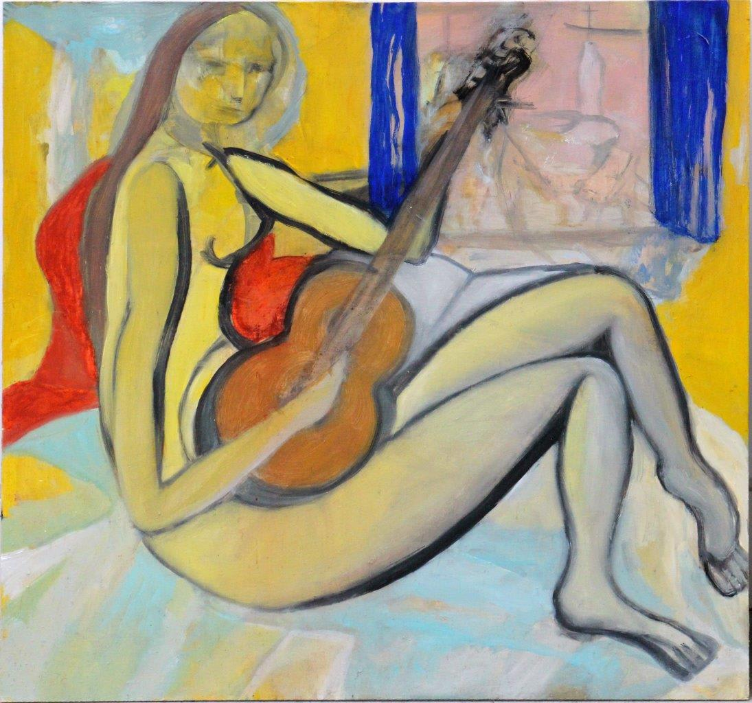 Star GOSSAGE Sing Like Summer, 2013 Oil on board 18.1 x 18.1 in 46 x 46 cm