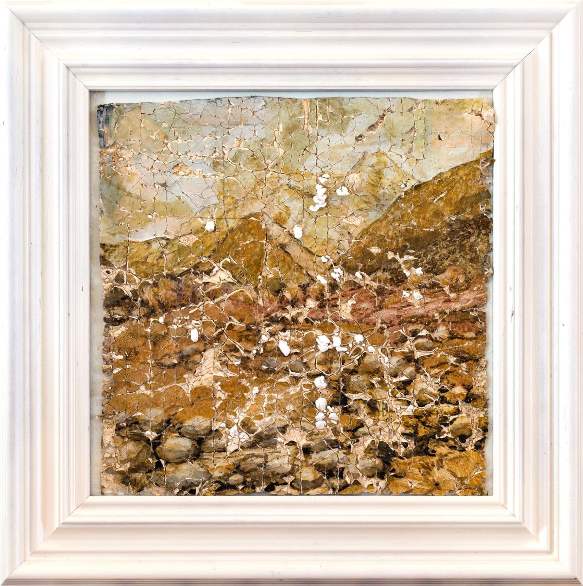Derek Cowie Stoddart on Cadmium White, 2017 Oil on prepared plaster 16.3 x 16.3 in 41.5 x 41.5 cm