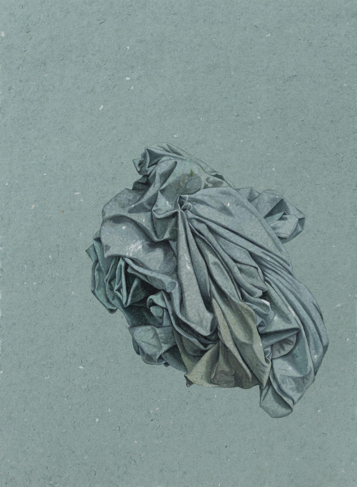 Marita Hewitt, Still Here (blue smoke), 2019