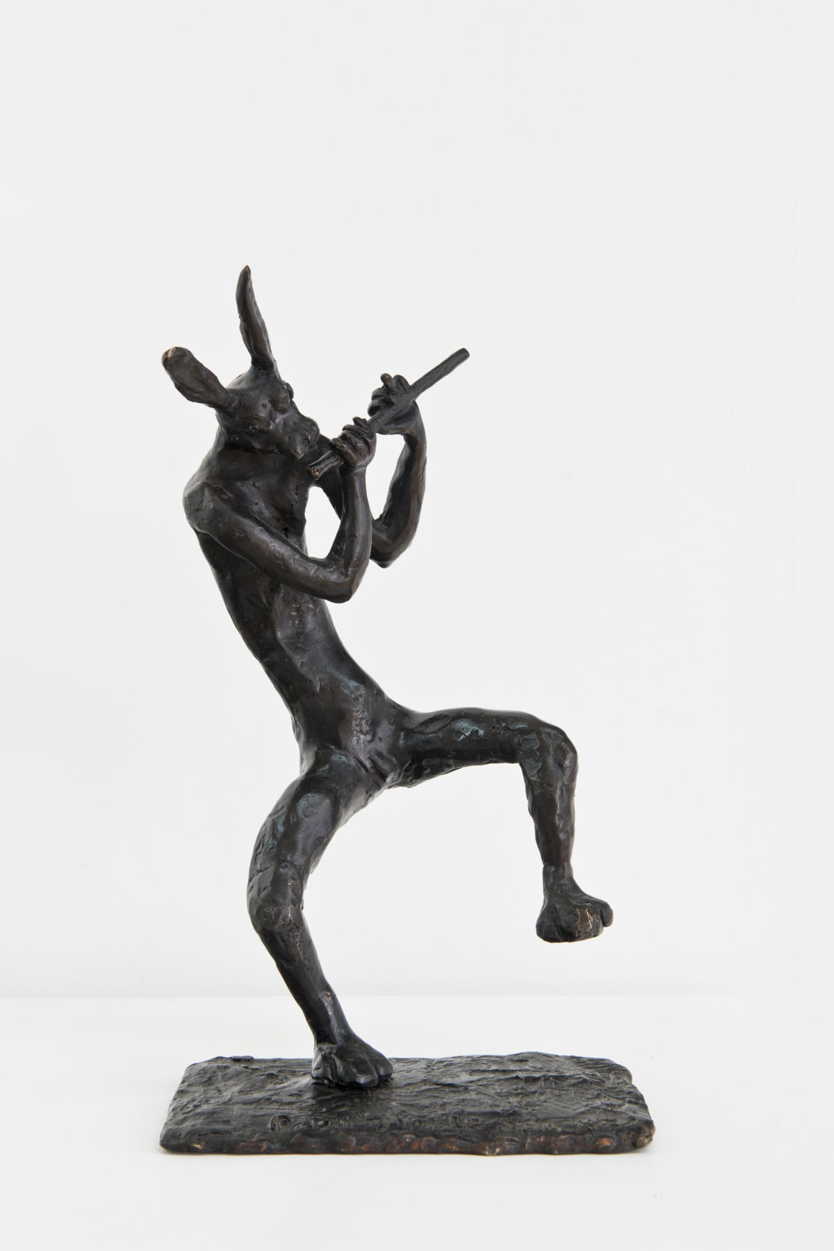 Paul DIBBLE Rabbit Rhythms, 2014 Cast Patinated Bronze 13.4 x 5.9 x 7.9 in 34 x 15 x 20 cm #2/2