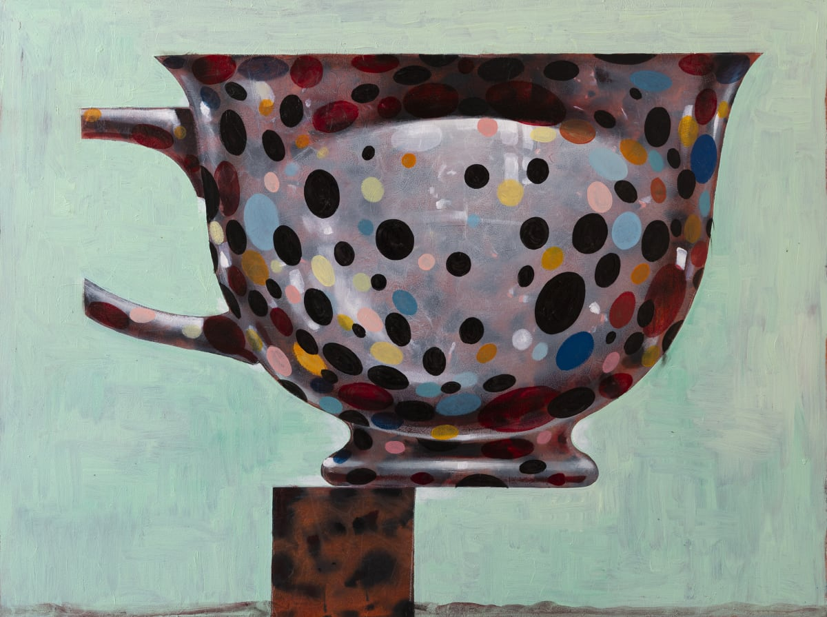 Derek Cowie Farewell Kusama, 2018-19 Oil on canvas 910mm x 1220mm