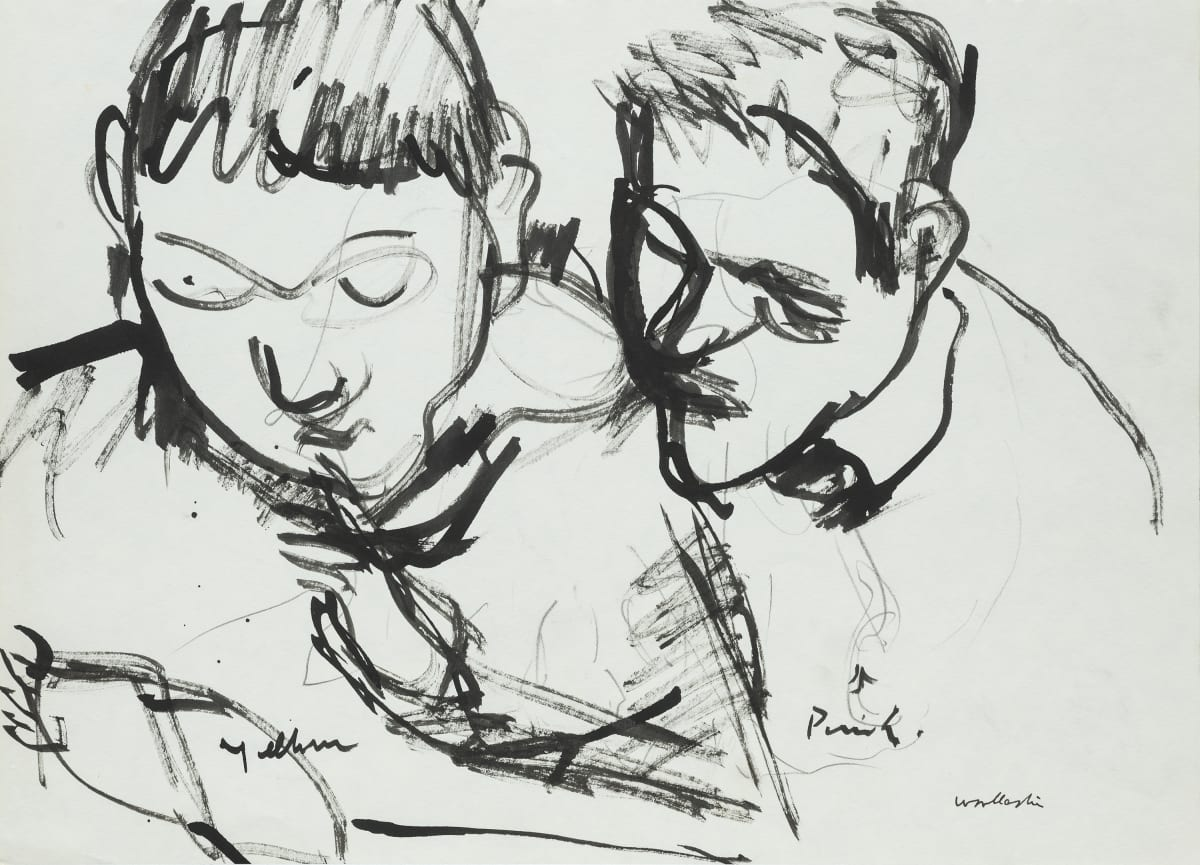 Mountford Tosswill Woollaston Pat Lucas and Wayne Bowden, 1968 ink on paper 275mm x 375mm