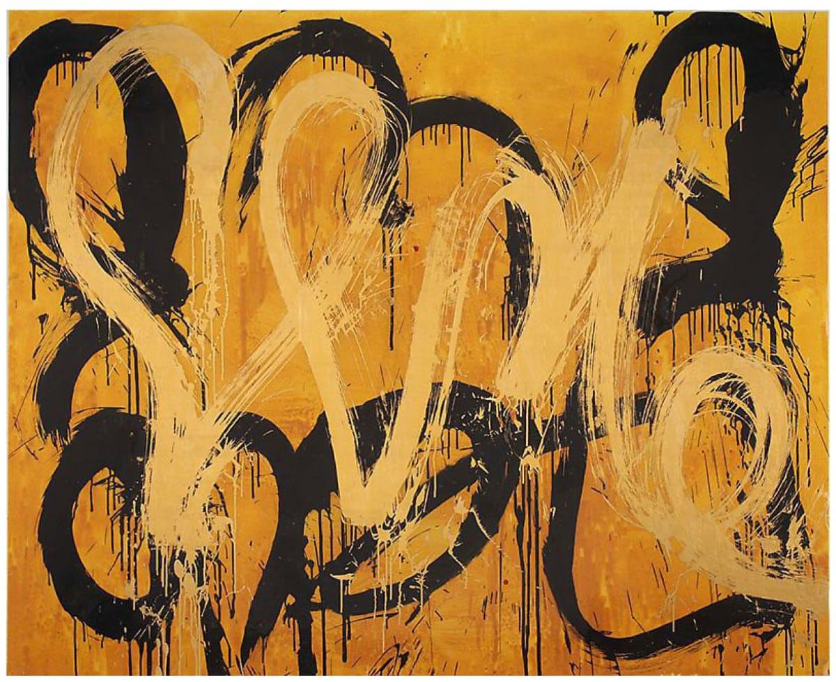Max GIMBLETT Les Demoiselles d'Avignon, 2016 Mixed media 65 x 80 in 165.1 x 203.2 cm