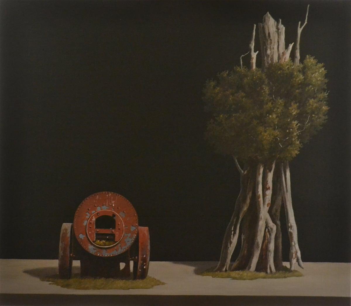 Michael Hight Marokopa, 2012 Oil on linen 14 x 16.1 in 35.5 x 41 cm