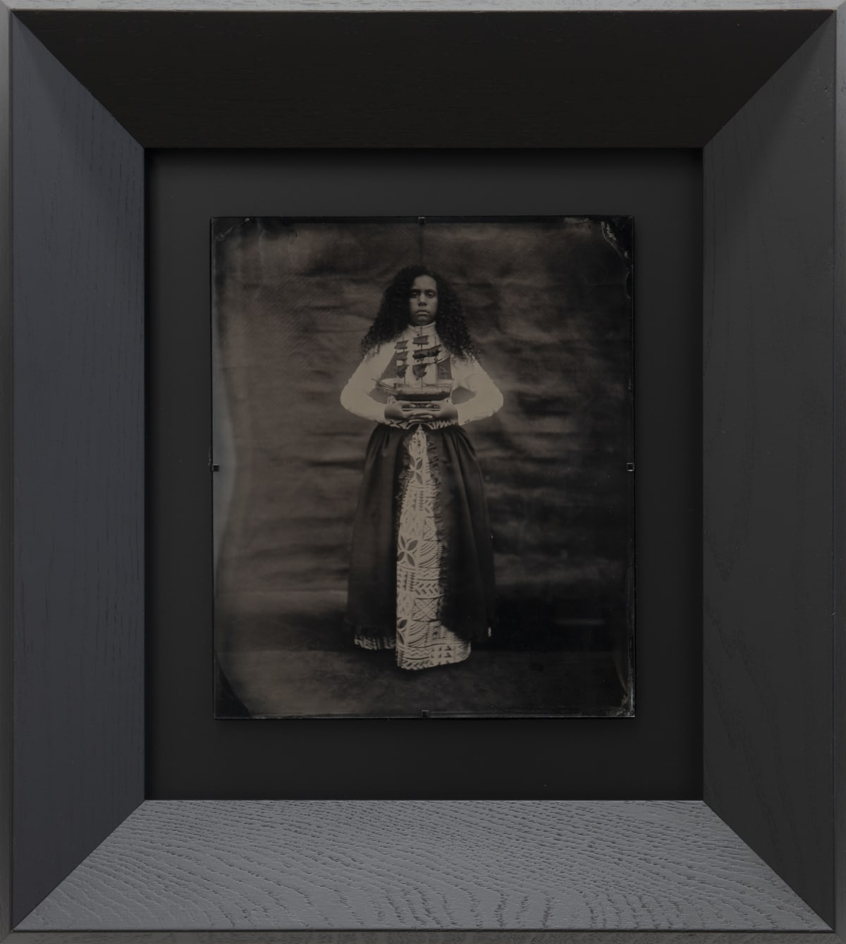 Jasmine Togo-Brisby Ask the Sea, 2019 Collodion on glass 258 x 305mm