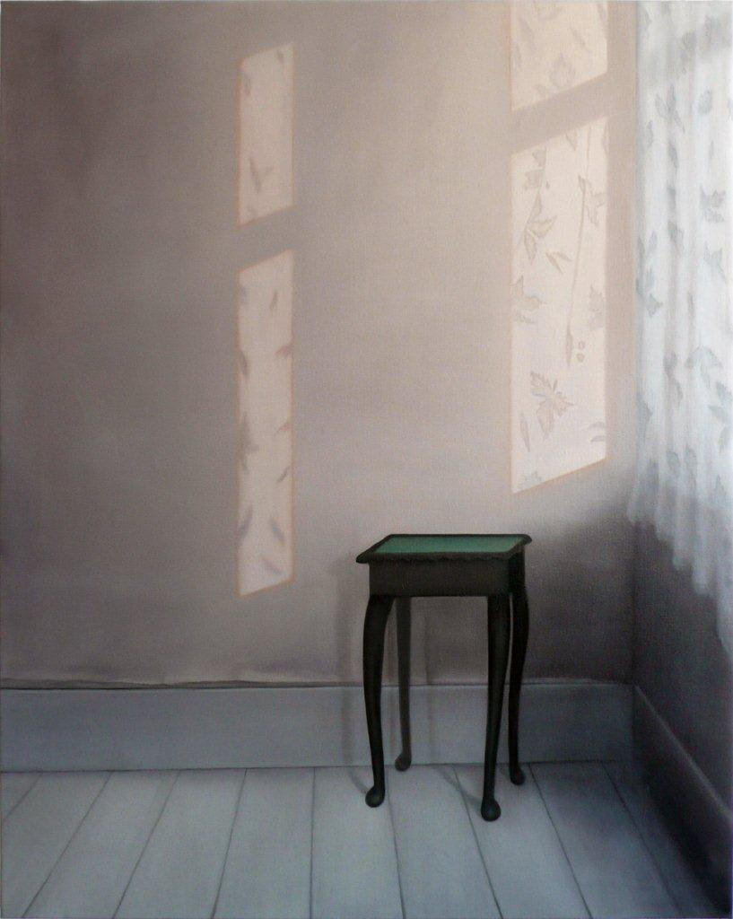 Emily Wolfe Waiting Room, 2012 Oil on linen 44.3 x 36.4 in 112.5 x 92.5 cm
