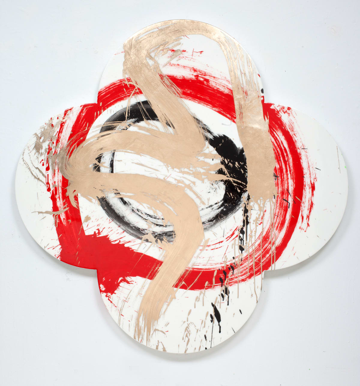 Max GIMBLETT Jason and the Argonauts, 2012 Mixed media 60 x 60 in 152.4 x 152.4 cm