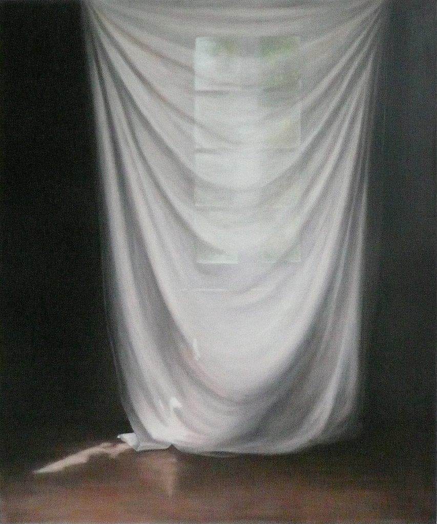 Emily Wolfe Overshadow, 2013 Oil on linen 47.2 x 39.4 in 120 x 100 cm
