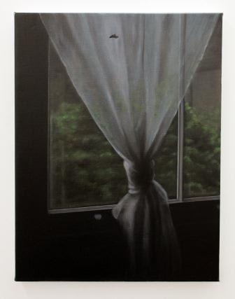 Emily Wolfe Black Light, 2013 Oil on linen 28.1 x 22 in 71.5 x 56 cm