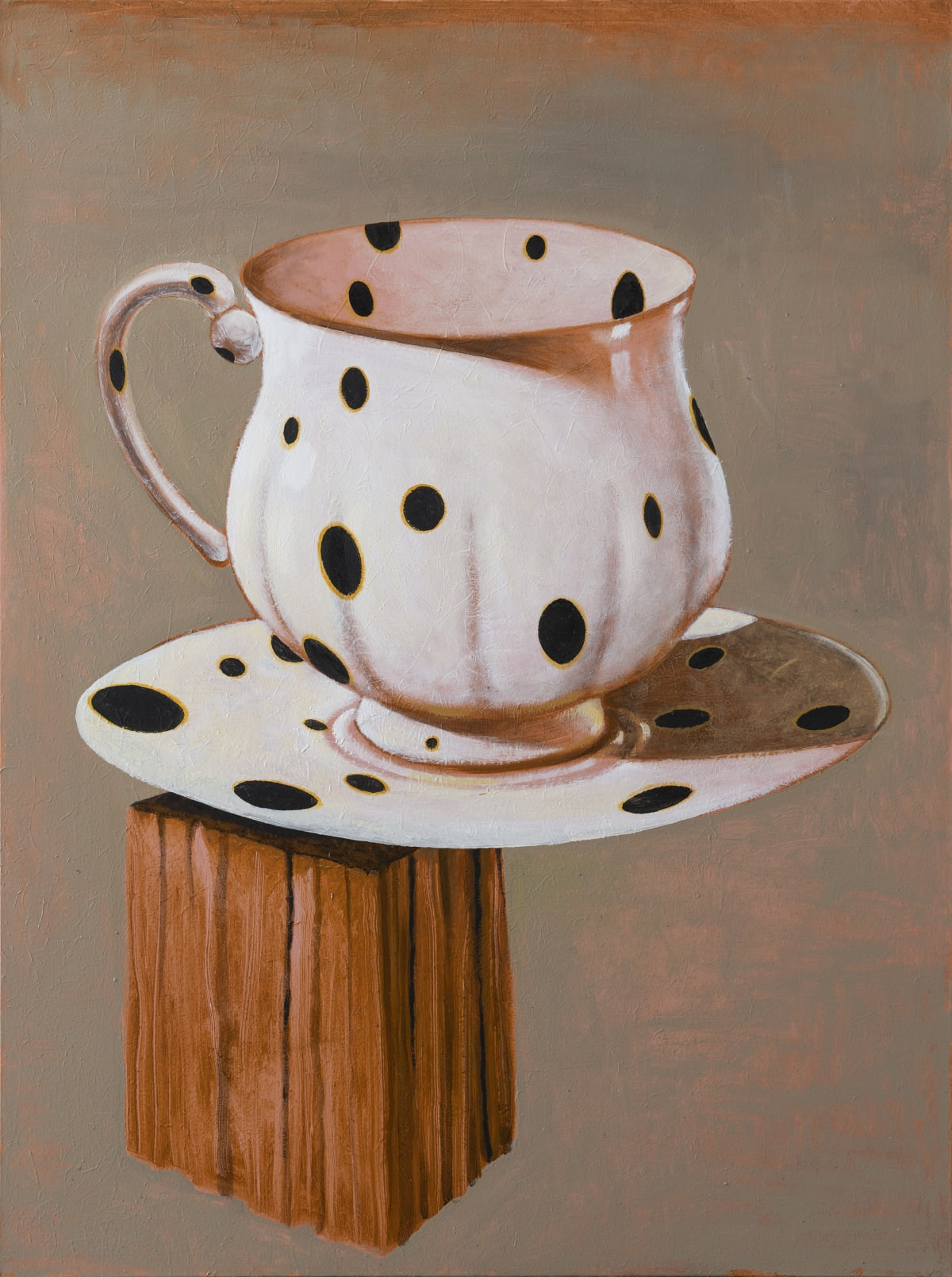 Derek Cowie Black Spot, 2019 Oil on Canvas 1220mm x 910mm