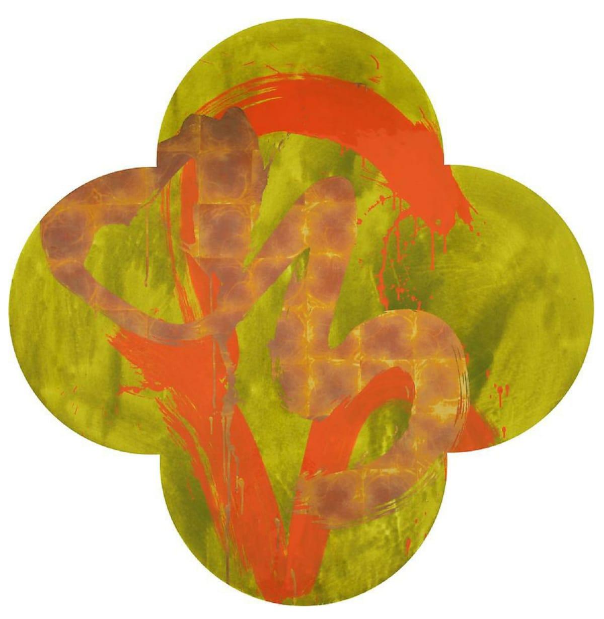 Max GIMBLETT Harvest of Truth, 2016 Mixed media 60 x 60 in 152.4 x 152.4 cm
