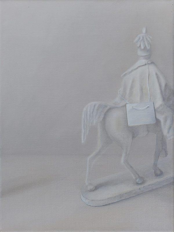 Emily Wolfe  Unknown, 2018  Oil on linen  40 x 30 cm