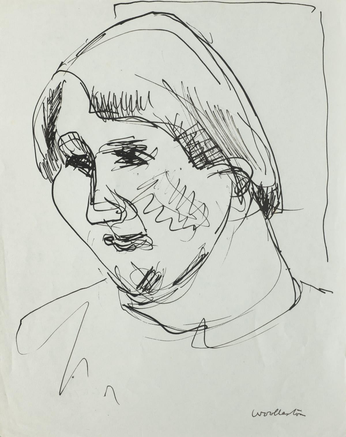 Mountford Tosswill Woollaston Jenny Sligo, c1956 pen and ink on paper 265mm x 210mm