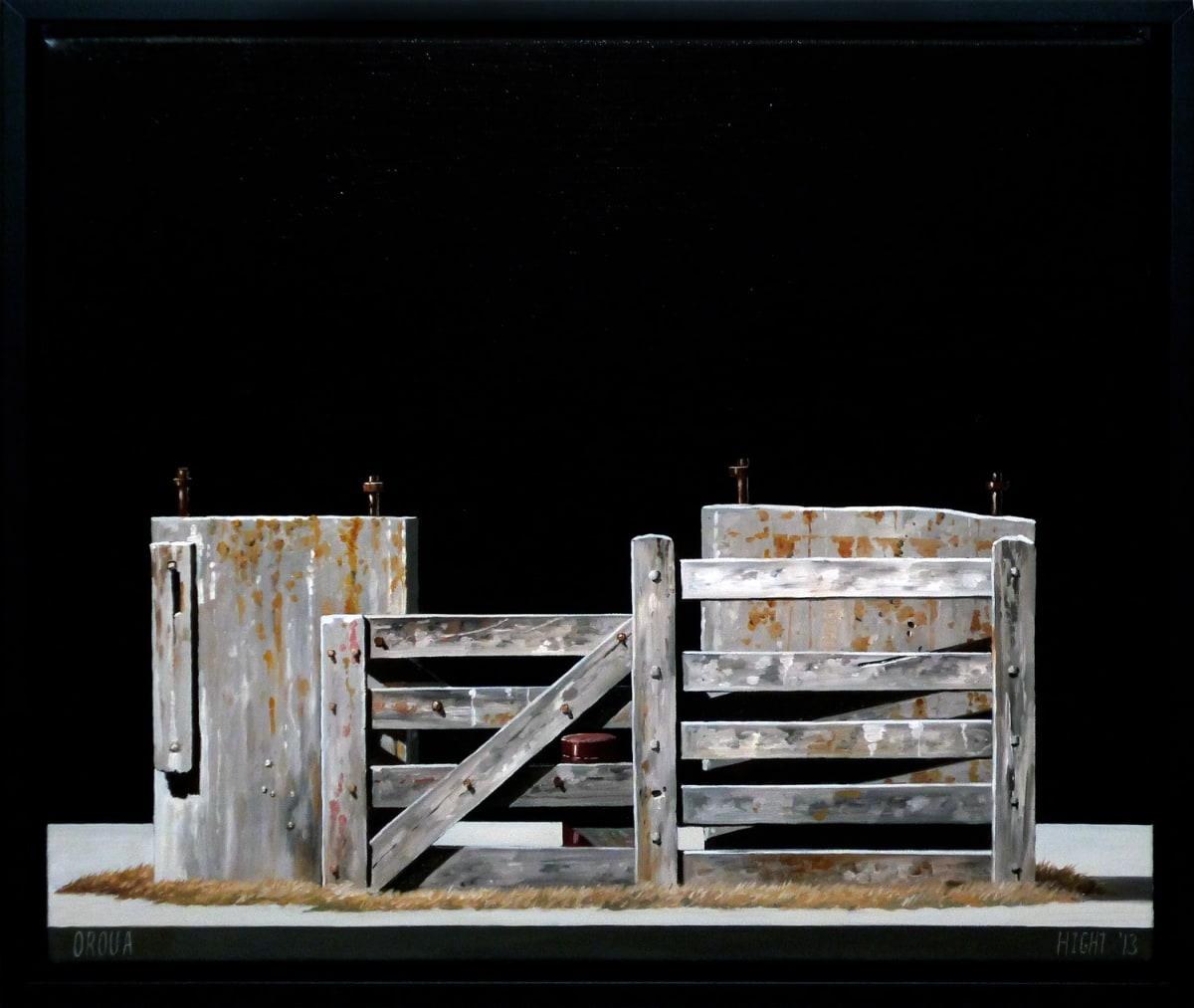 Michael Hight Oroua, 2013 Oil on linen 14 x 16.1 in 35.5 x 41 cm