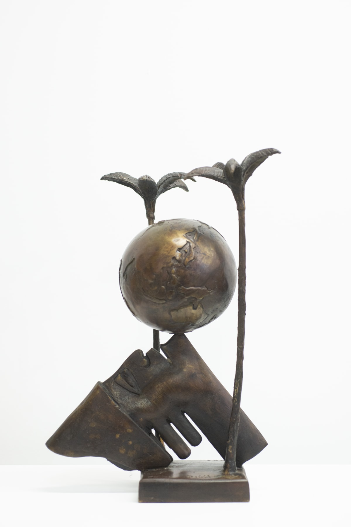 Paul DIBBLE Untitled, 2003 cast patinated bronze 500 x 320 x 320mm