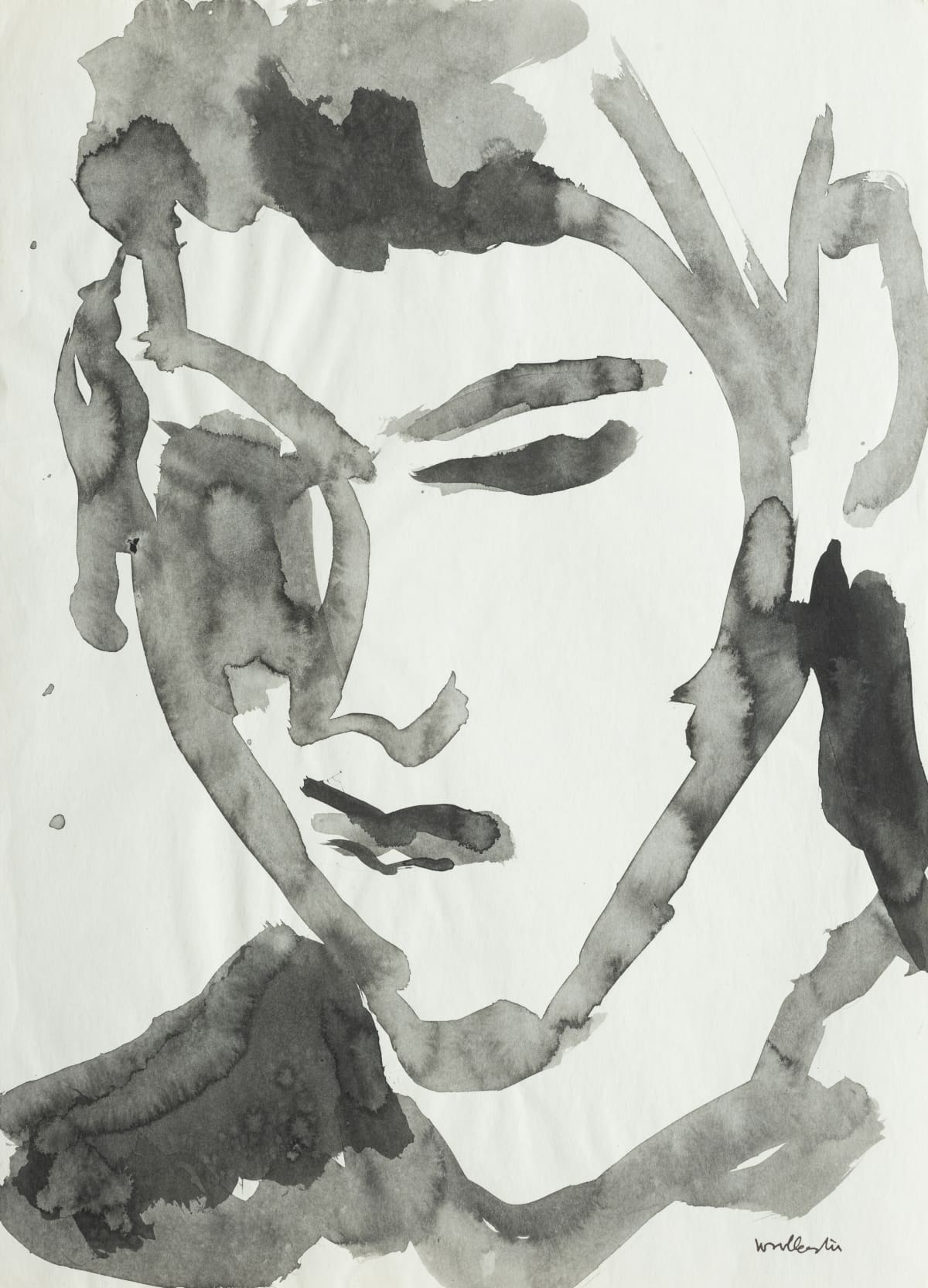Mountford Tosswill Woollaston Wayne Bowden, 1966 ink on paper 375mm x 275mm