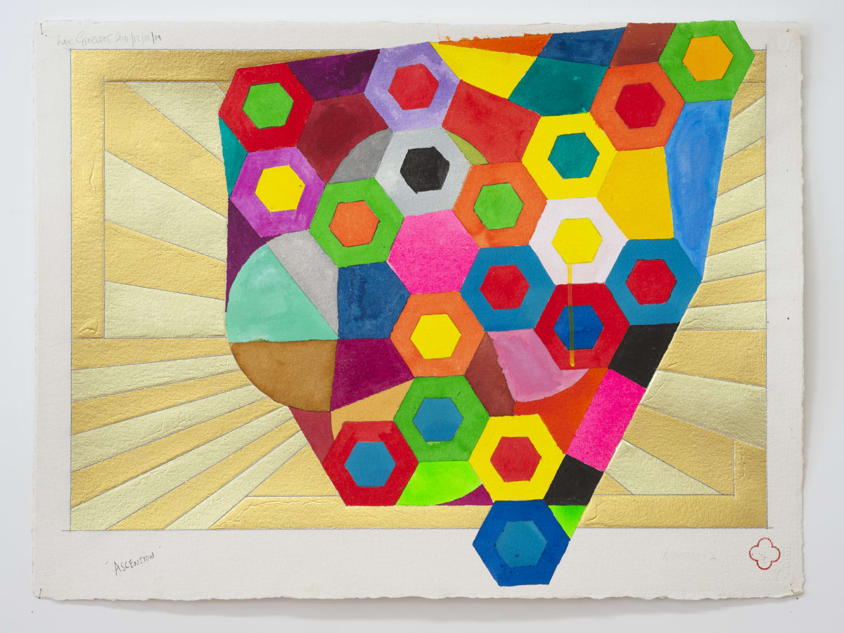 Max GIMBLETT, Ascension, 2011/12/18/19