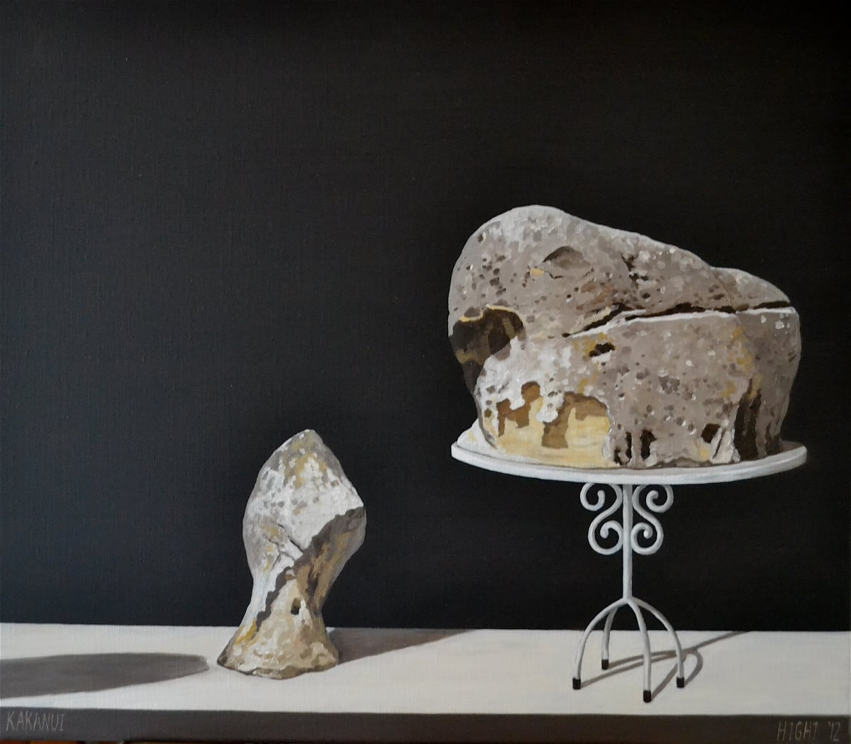 Michael Hight Kakanui, 2012 Oil on linen 14 x 16.1 in 35.5 x 41 cm