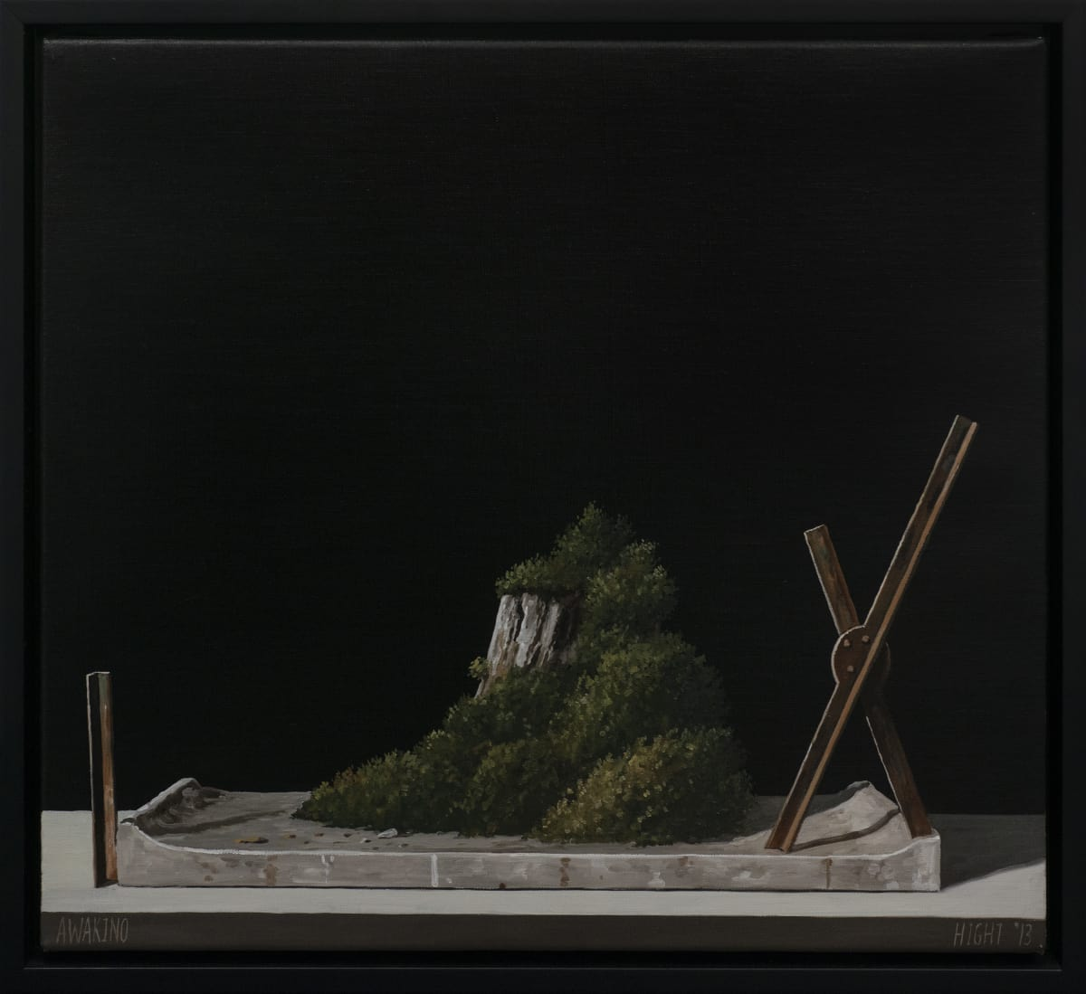 Michael Hight Awakino, 2012 Oil on linen 14 x 16.1 in 35.5 x 41 cm