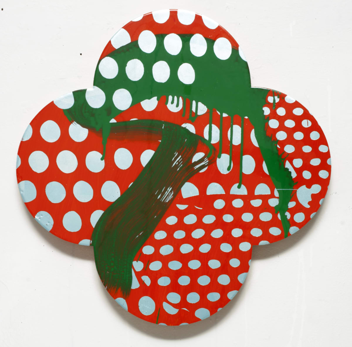 Max GIMBLETT On a Clear Day, 2012 Mixed media 25 x 25 in 63.5 x 63.5 cm