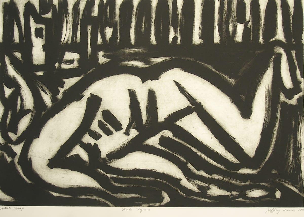 Jeffrey Harris, Male Figure, A/P, 1988