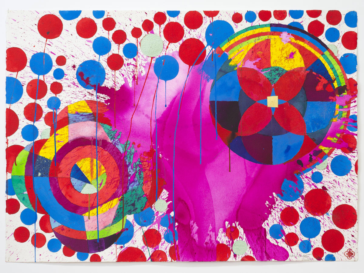 Max GIMBLETT, Tropical Islands in Paradise, 2013/15