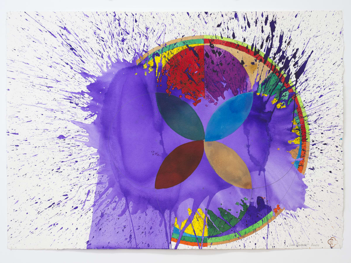 Max GIMBLETT, Turning Life (Wheel), 2014/15
