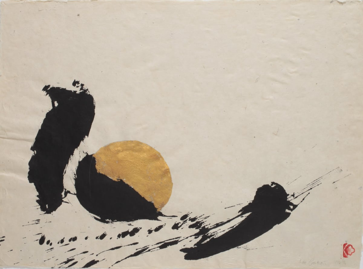 Max GIMBLETT Cat and Mouse, 1994/96 Mixed media on paper 19 x 26 in 48.3 x 66 cm