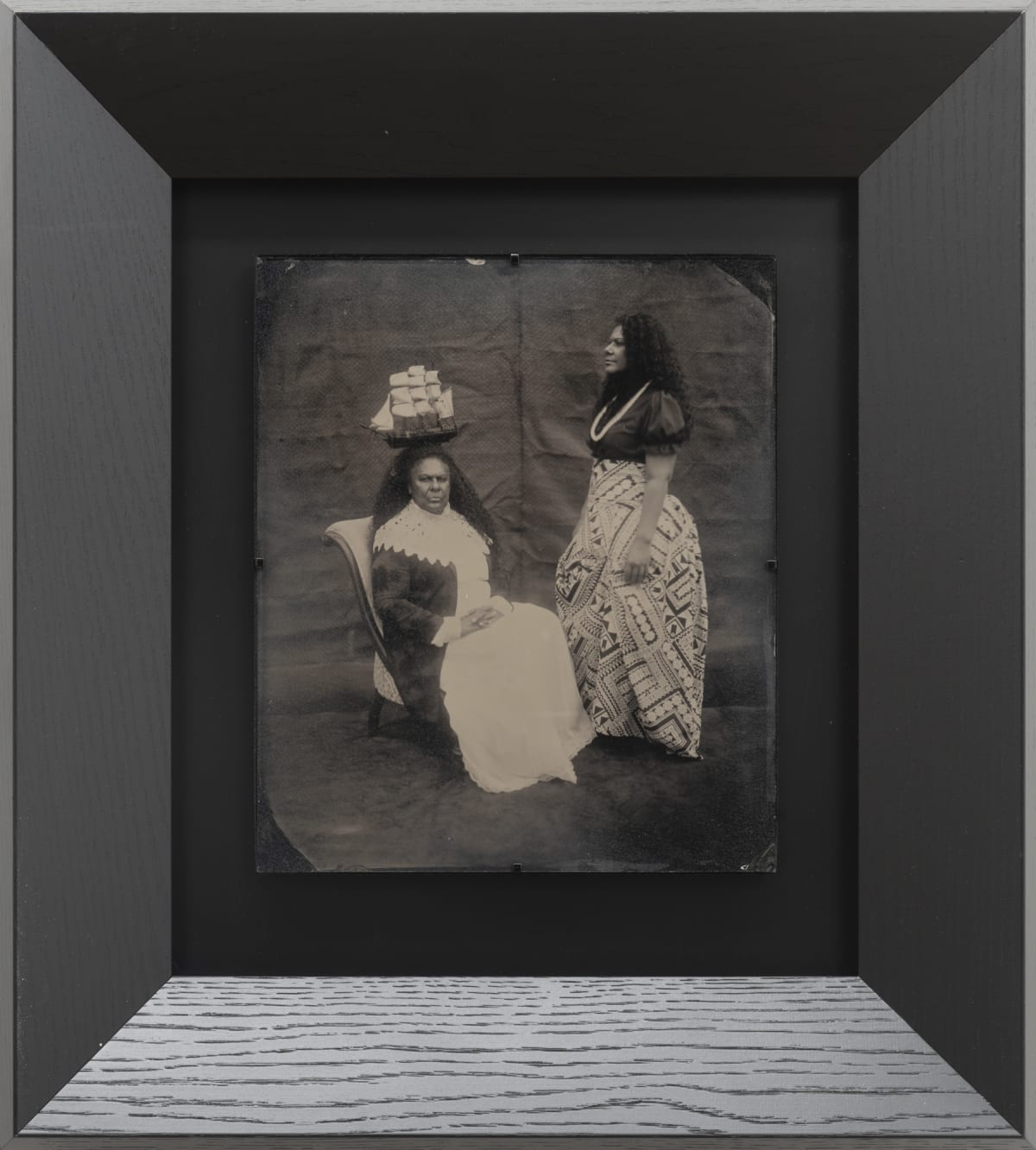 Jasmine Togo-Brisby Tidal Transitions, 2019 Collodion on glass 258 x 305mm